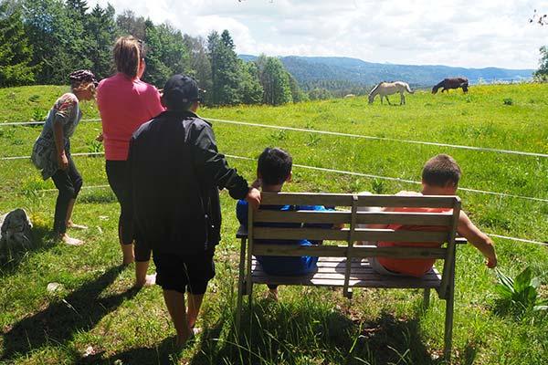 Sentier ludique au coeur de la nature du Jura
